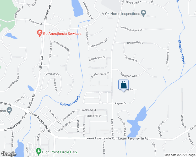 map of restaurants, bars, coffee shops, grocery stores, and more near 24 Quarry Lane in Newnan