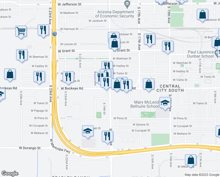 W Buckeye Rd & S 19th Ave, Phoenix AZ - Walk Score on philadelphia pennsylvania on us map, arizona weather map, buckeye city, buckeye trail map, verrado community map, bullhead city arizona map, buckeye union high school, buckeye hills regional park, buckeye system map, arizona united states map, san luis arizona map, buckeye wv map, buckeye mini storage, bar x ranch map, buckeye arizona, buckeye valley high school map,