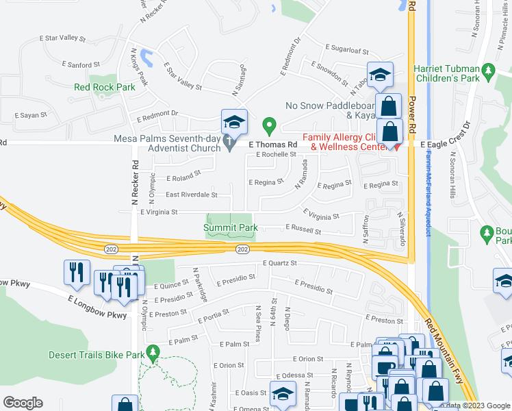 3410 North Sea Pines, Mesa AZ - Walk Score on hilton head resort map, hilton head neighborhood map, beaufort map, st. james plantation map, channelside district map,