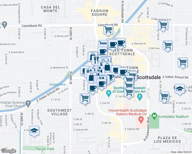East Indian School Road & North Goldwater Boulevard, Scottsdale AZ ...