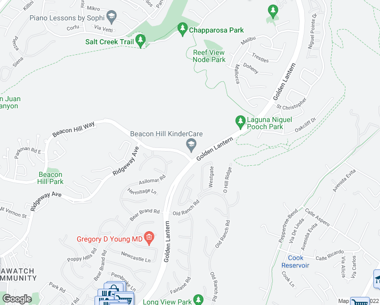 map of restaurants, bars, coffee shops, grocery stores, and more near in Laguna Niguel