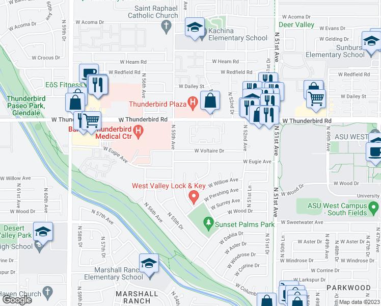 5415 West Voltaire Drive Glendale Az Walk Score