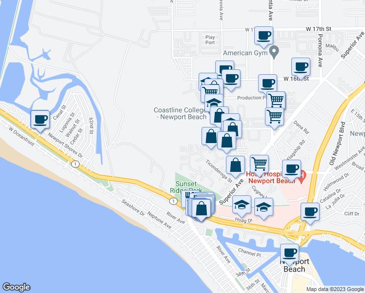 How Far Is Santa Ana Ca To Newport Beach Ca