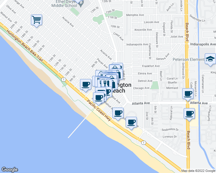 Th Street Huntington Beach Ca
