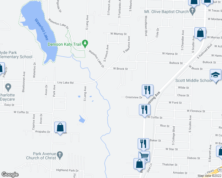 2031 South Fairbanks Avenue, Denison TX - Walk Score on