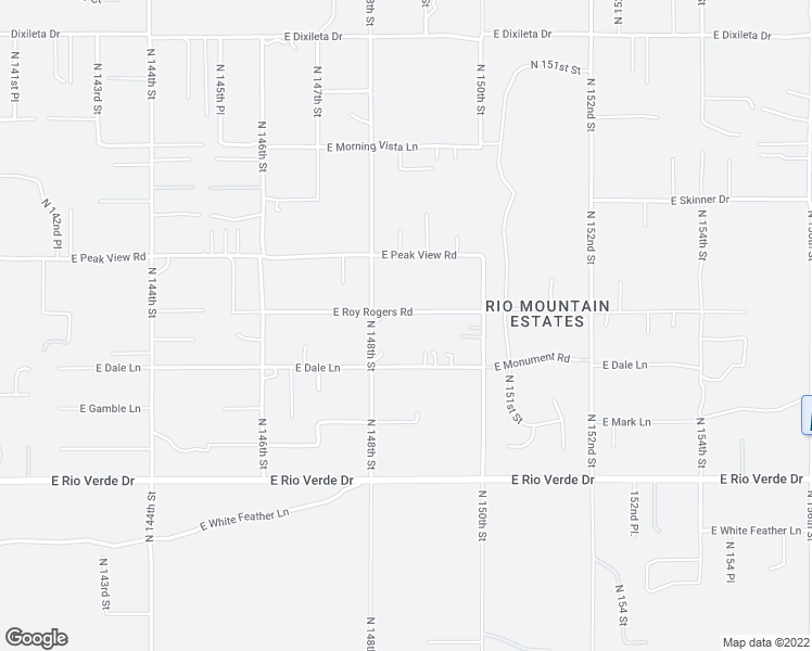 map of restaurants, bars, coffee shops, grocery stores, and more near 14831 East Roy Rogers Road in Scottsdale