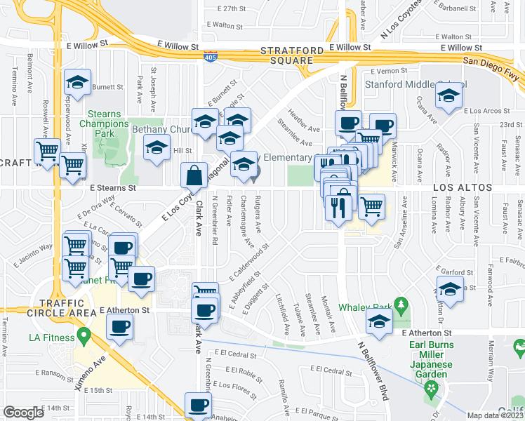 2124 North Rutgers Avenue, Long Beach CA - Walk Score