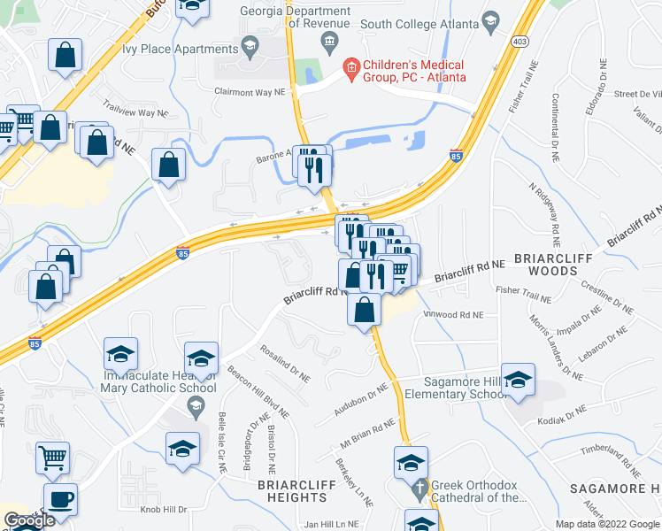 Restaurants Near North Druid Hills Road Atlanta