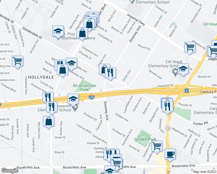 13202 Downey Avenue, Paramount CA - Walk Score on