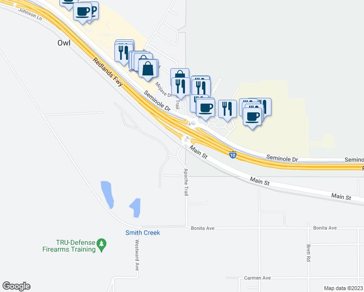 13990 Apache Trail, Cabazon CA - Walk Score on