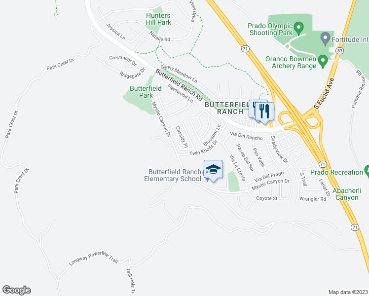 17884 Cassidy Place Chino Hills Ca Walk Score