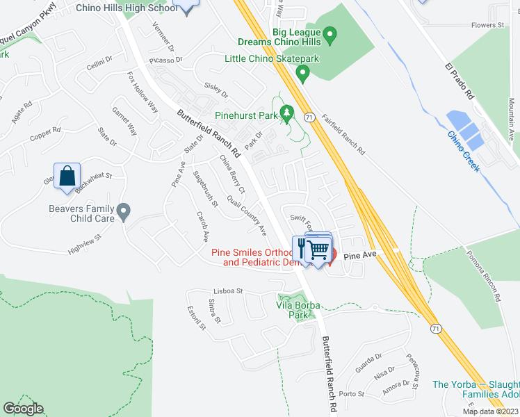 5551 Butterfield Ranch Road Chino Hills Ca Walk Score