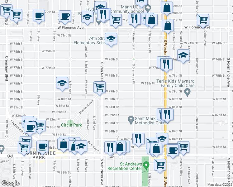 Restaurants Near Th Street Los Angeles