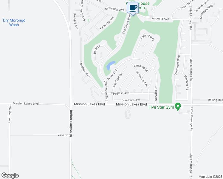 Desert Hot Springs California Map.9771 Capiland Road Desert Hot Springs Ca Walk Score