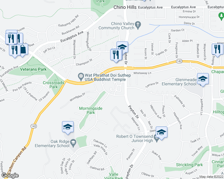14901 Frost Avenue, Chino Hills CA - Walk Score on