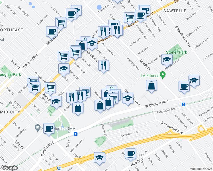 1648 Franklin Street, Santa Monica CA - Walk Score on westwood santa monica map, hotel santa monica map, santa monica tourist map, 7984 santa monica blvd map, santa monica street parking, ucla santa monica map,