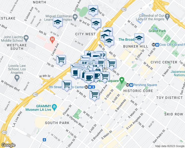 Pegasus Apartments, Los Angeles CA - Walk Score on