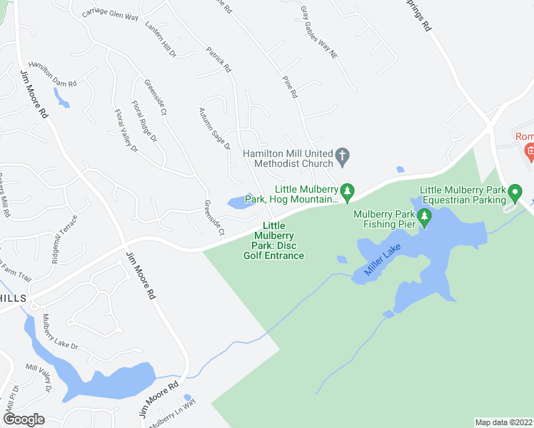 map of restaurants, bars, coffee shops, grocery stores, and more near 3707 Treybyrne Crossing in Dacula