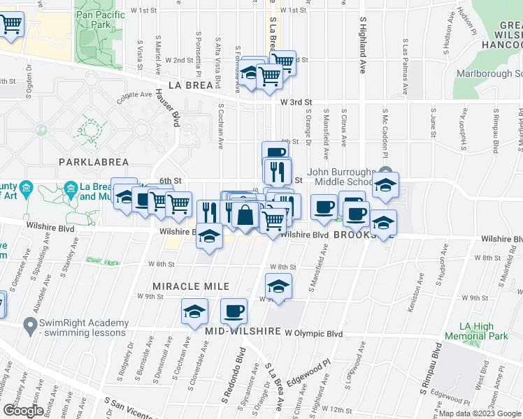 650 South Detroit Street, Los Angeles CA - Walk Score