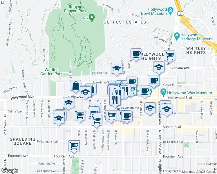1741 North La Brea Avenue, Los Angeles CA - Walk Score