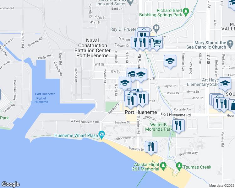 240 North 2nd Street Port Hueneme Ca Walk Score