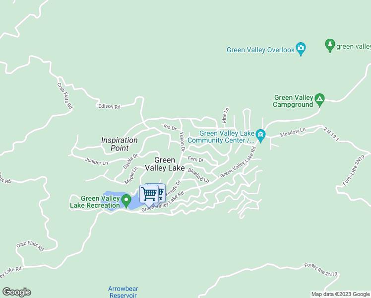 633 Yukon Drive, Green Valley Lake CA - Walk Score on