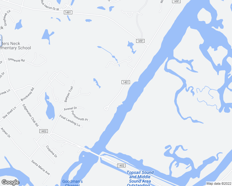 map of restaurants, bars, coffee shops, grocery stores, and more near 8037 Bald Eagle Lane in Wilmington