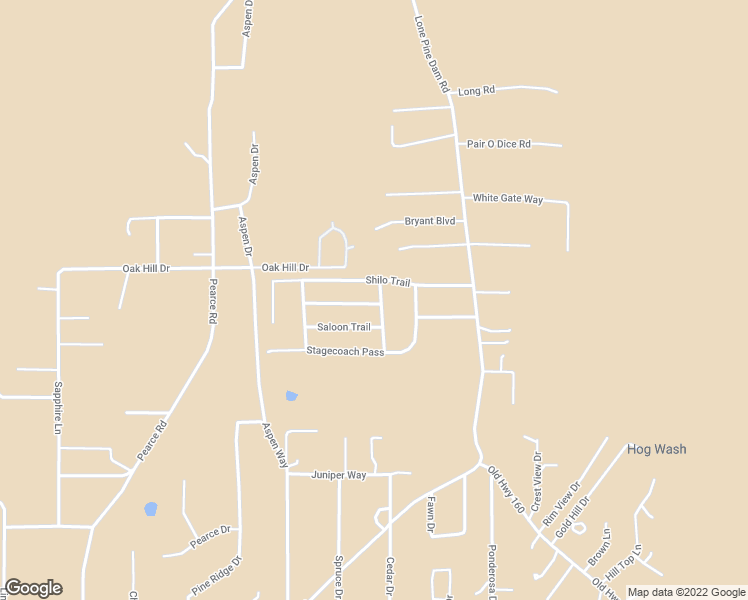 map of restaurants, bars, coffee shops, grocery stores, and more near 7054 Dusty Saddle Trail in Show Low