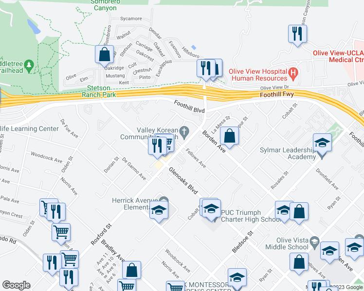 15101 Roxford St Los Angeles Ca Walk Score