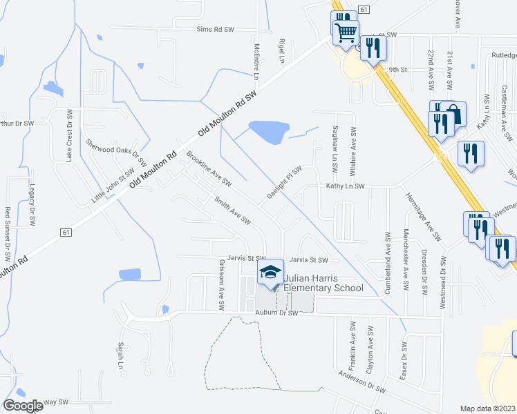 2431 Gaslight Place Southwest, Decatur AL - Walk Score