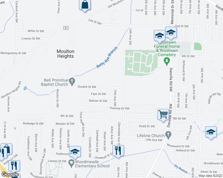 1503 Douthit Street Southwest, Decatur AL - Walk Score