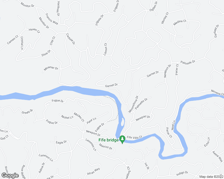 map of restaurants, bars, coffee shops, grocery stores, and more near Neaptide Drive in Ellijay