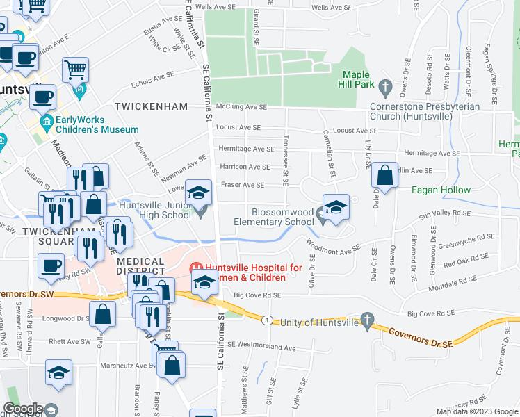 1104 Bluefield Avenue Southeast Huntsville AL  Walk Score