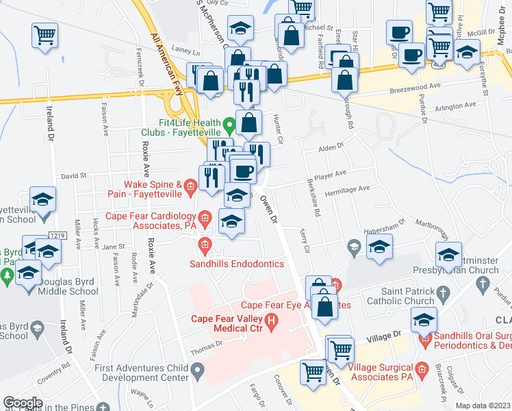 Restaurants Near Owen Drive Fayetteville Nc
