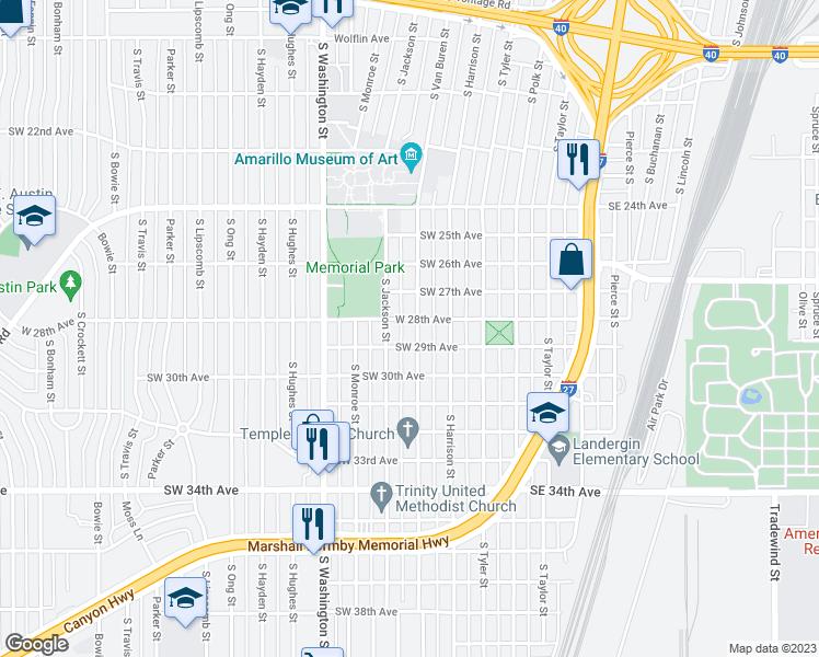2802 South Van Buren Street Amarillo Tx Walk Score