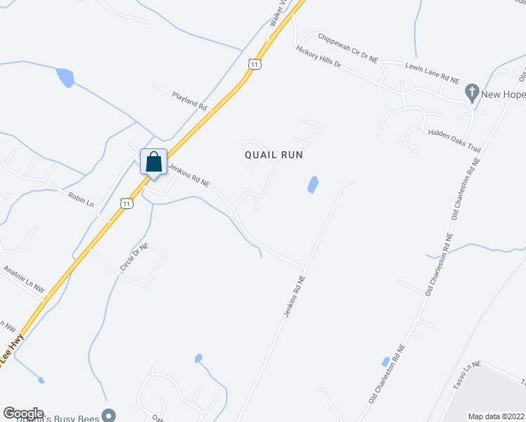 127 Quail Cove NE, Cleveland TN - Walk Score on