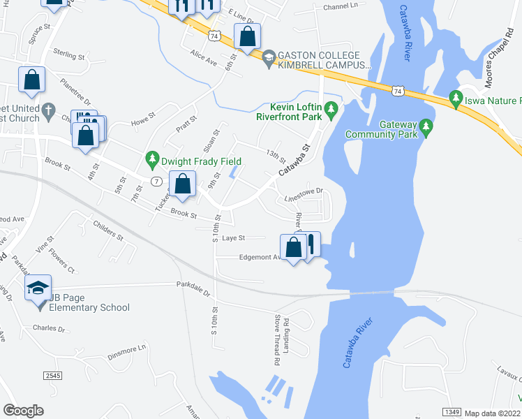 map of restaurants, bars, coffee shops, grocery stores, and more near 3 Linestowe Drive in Belmont