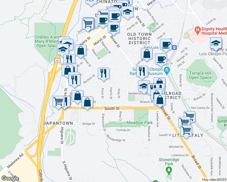 2064 Harris Street San Luis Obispo Ca Walk Score