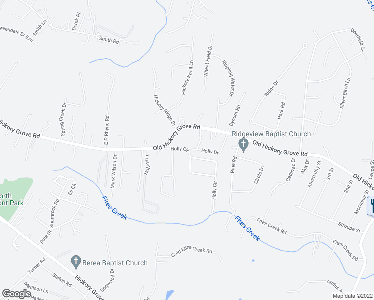 map of restaurants, bars, coffee shops, grocery stores, and more near 105 Holly Circle in Mount Holly