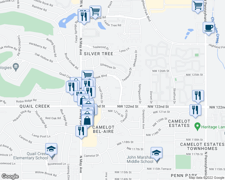 2700 Indian Creek Boulevard Oklahoma City Ok Walk Score