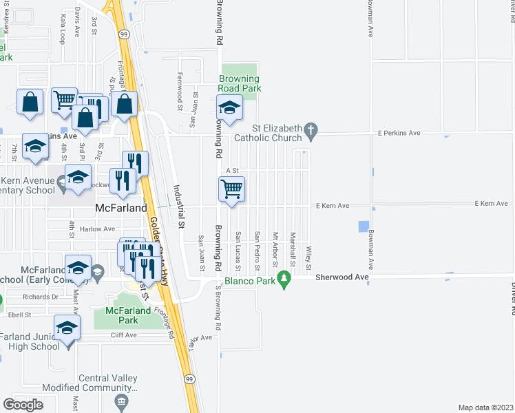 San Pedro Street, McFarland CA - Walk Score