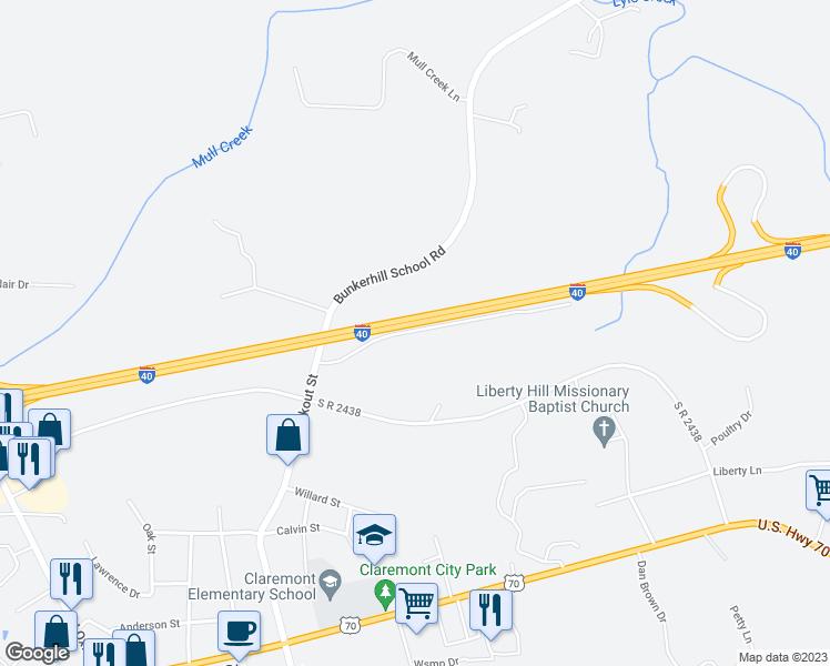 5846 Rest Home Road Claremont Nc Walk Score