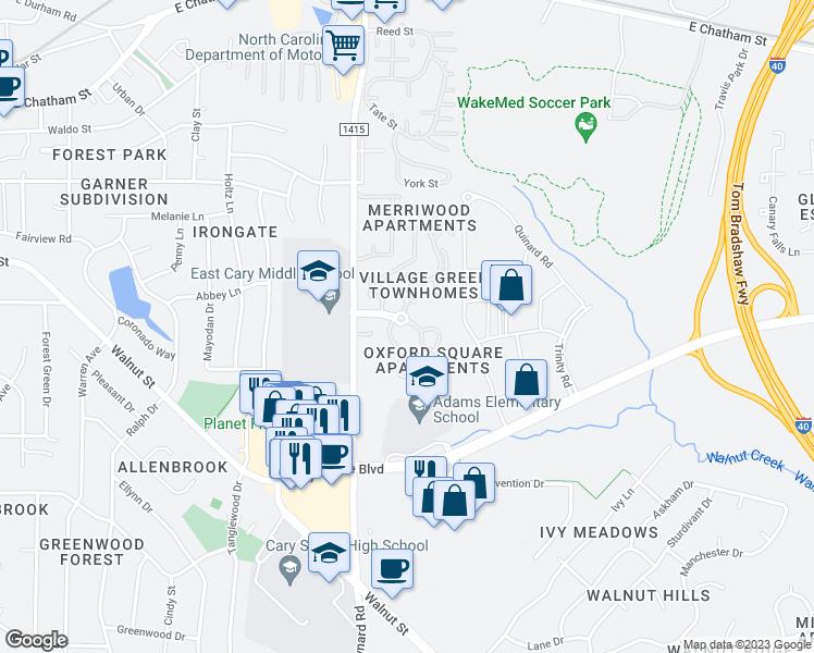 1000 Village Greenway, Cary NC - Walk Score on