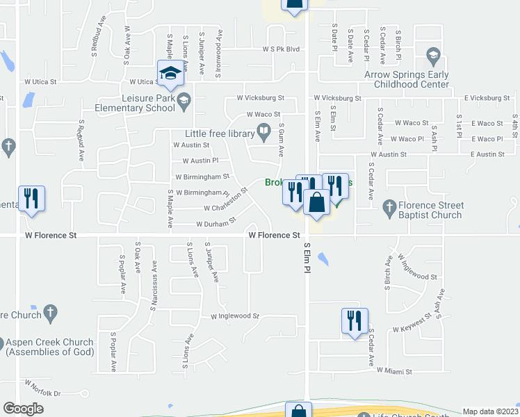 4715 S Ironwood Ave, Broken Arrow OK - Walk Score