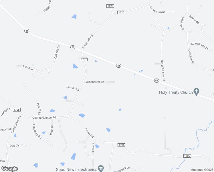 Franklinton Nc Map.4164 Winchester Drive Franklinton Nc Walk Score