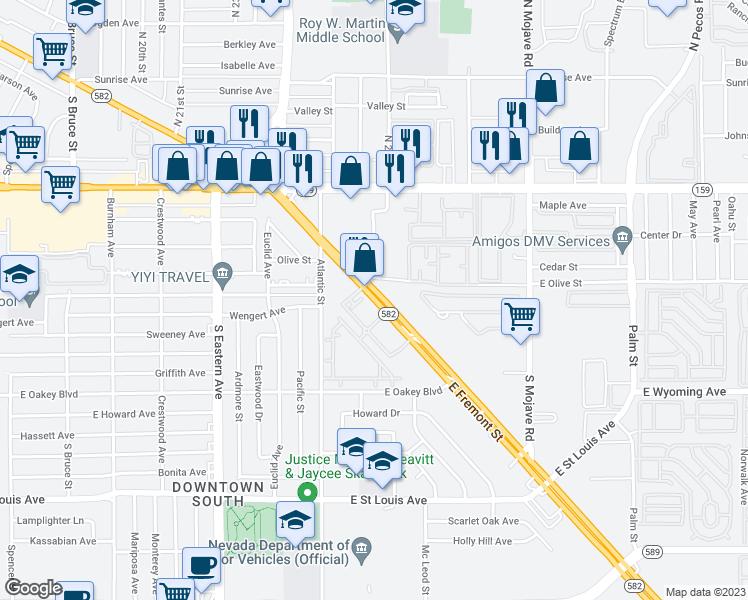 399 Fremont Street, Las Vegas NV - Walk Score