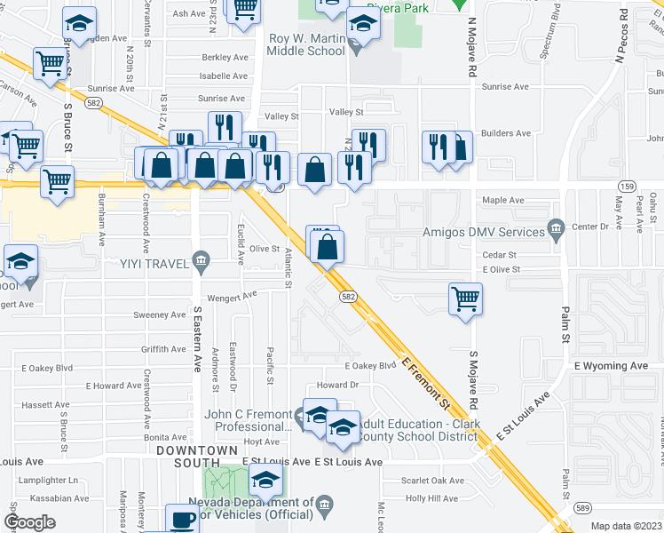 2775 Fremont Street, Las Vegas NV - Walk Score