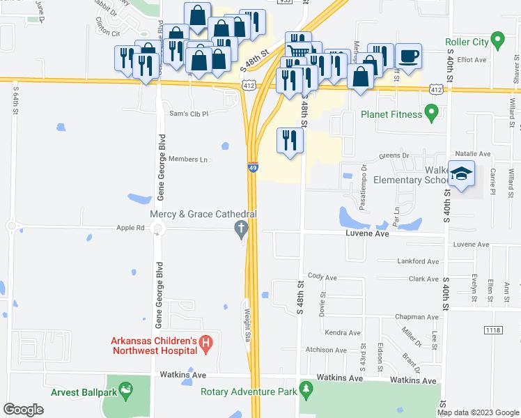 5000 Luvene Avenue, Springdale AR - Walk Score