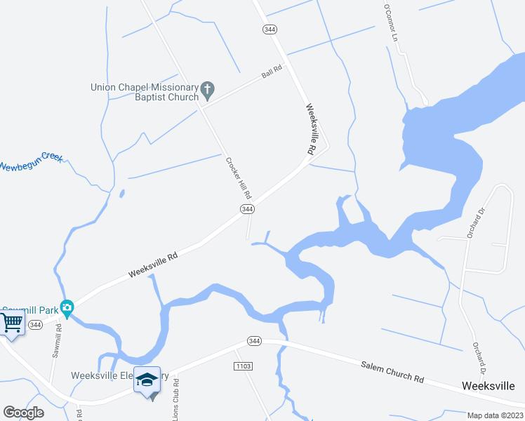 1234 Weeksville Road, Elizabeth City NC - Walk Score