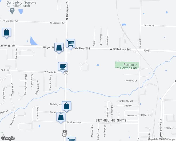 4094 Ferns Valley Loop, Springdale AR - Walk Score